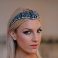 blue jay feather tiara