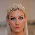 golden lace crown / tiara