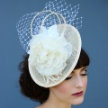 nude & Ivory headpiece