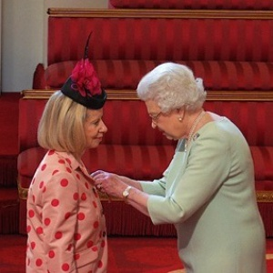 OBE award & garden party hats
