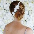 lace hair vine for wedding hair