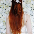 lace hair vine for bridal hair