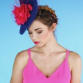 Blue and Pink Hat
