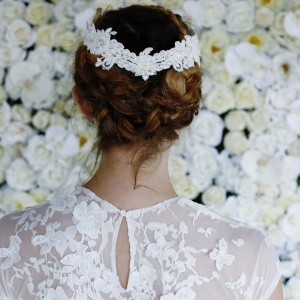 lace hair crown