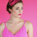 Pink Art Deco Hat