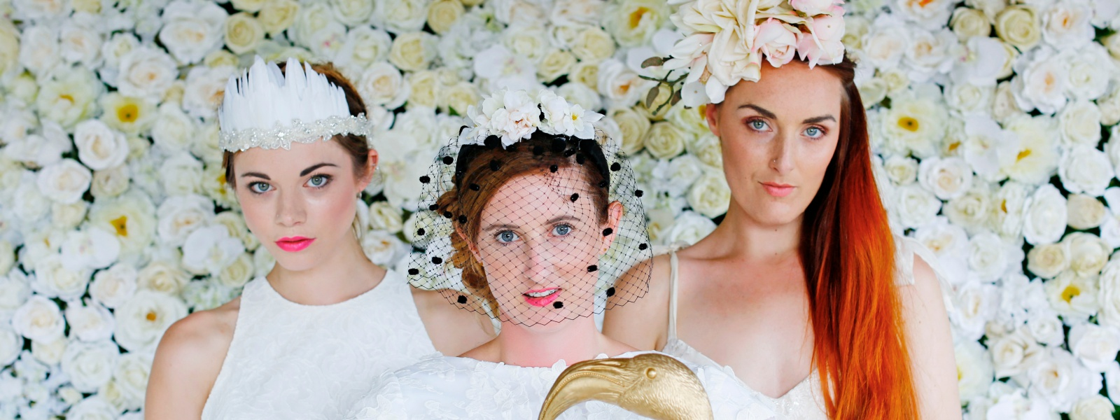 A fun fresh take on vintage inspired wedding accessories