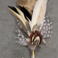 Grooms style - feathered jewellery