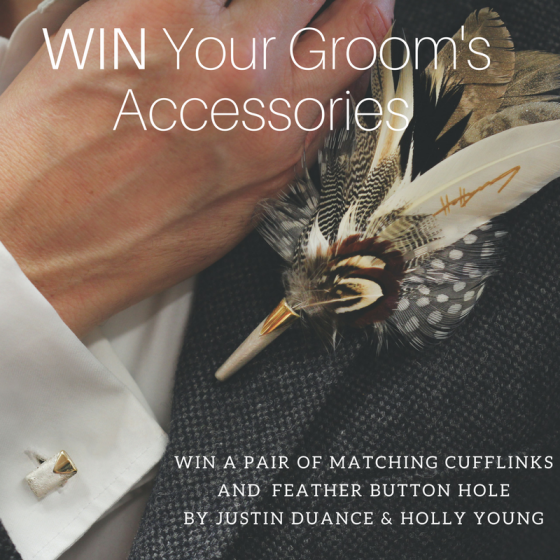 WIN your groom's accessories