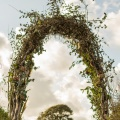 fern greenery wedding arch