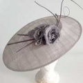 large grey hat for Ascot