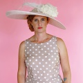 large pink hat for royal ascot