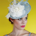 duck egg blue races hat