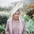 alaria ivory sculpted hat