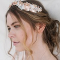'Thaleia' rose gold crown Holly Young