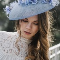 'Trebah' blue hydrangea hat Holly Young