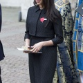 Meghan Markels black beret at Anzac Day