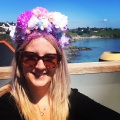 floral crown hen party workshop Cornwall