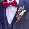 mens pink bow tie