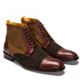 mens brown hand made shoes Undandy