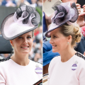 Sophie countess of Wessex Royal Ascot 2018 Jane Taylor Hat
