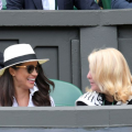 Meghan markle at Wimbledon 2018
