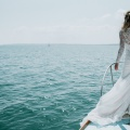 beautiful mermaid bride style Inspo