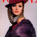 Kate moss on the cover of vogue magazine
