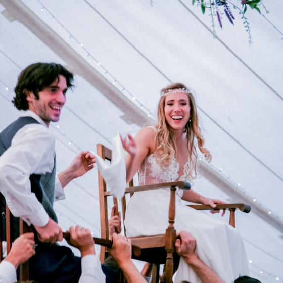 Real Brides - Carly & Jackson's Wild Cornish Wedding