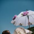 wedding styling floral parasol