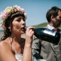 my kind of bride drinking champagne