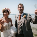 Real Brides - Phoebe & Dan's Wedding at Polhawn Fort