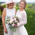 bespoke mother of the bride hats Cornwall