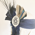 great Gatsby inspired party headband Holly Young