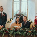 country style winter wedding