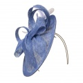 bluebell blue occasion hat Holly Young