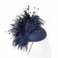 navy occasion hat Holly Young