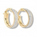 Ramsdens gold hoop earrings