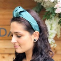 emerald green turban band