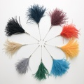 Mae ostrich feather hat pins