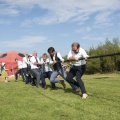 tug of war wedding fun