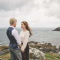 Cornish clifftop wedding