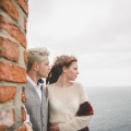 cliff top wedding Cornwall