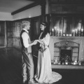 bride and groom elopement