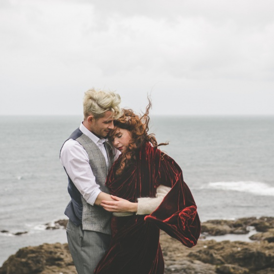 A Winter Escape - Elopement Shoot