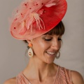 coral occasion hat holly young