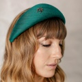green halo crown hat