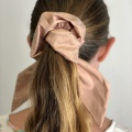 bow tail scrunchies