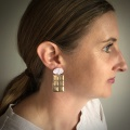 Earrings by Holly Young