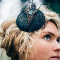 black-peacock-headpiece-Holly-Young