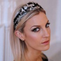 black-&-silver-wide-headband-Holly-Young